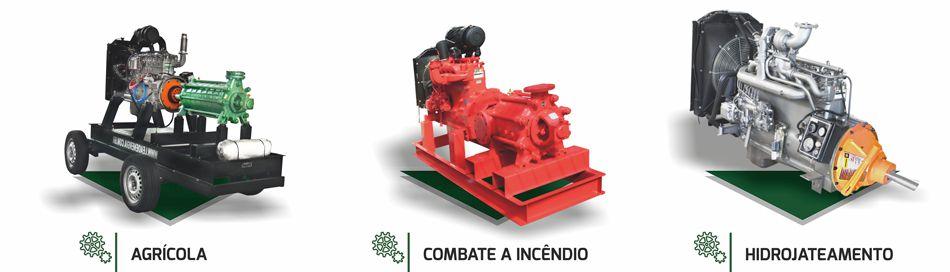 motores aplicações especias em máquinas agricolas, combate a incêncio e hidrojateamento